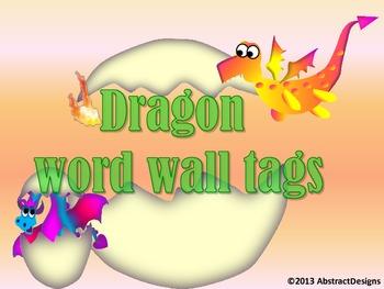 Dragon Alphabet (Word Wall Tags)