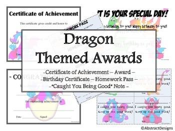 Dragon Awards Set