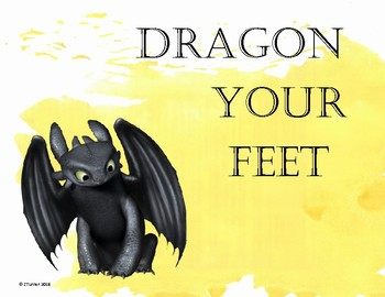 Dragon Behavior Chart Poster