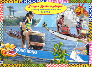 Dragon Boats in August: NYC through a Year of Celebrations - picture books