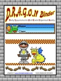 Dragon {Castle or Medieval} Binder Cover