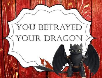Dragon Chic Behavior Chart