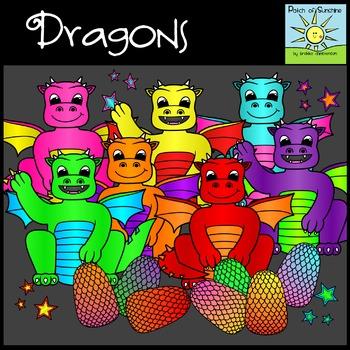 Dragon Clip Art *Patch of Sunshine*