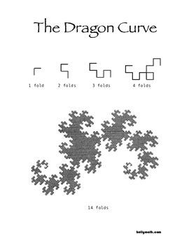 Dragon Curve Fractal Lesson