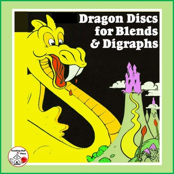 CONSONANT BLENDS | Color Dragons | PRACTICE Activity Gr. 1-2 Vocabulary