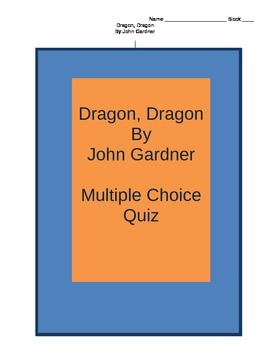Dragon, Dragon Multiple Choice Quiz