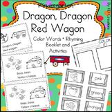 Color Words and Rhyming Activities for Kindergarten