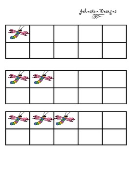 Dragon Fly Ten Frames
