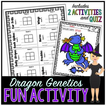 GENETICS COLLABORATIVE LEARNING ACTIVITY, DRAGON GENOTYPES