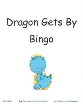 Dragon Gets By Bingo Game ~ Language Arts Activity