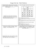 Dragon Gets By ~ Math Activity Pages ~ Houghton Mifflin® 2nd Grade