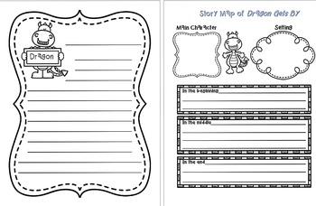 Dragon Gets By - Writing Craftivity