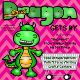 """Dragon Gets By """"Shopping"""" by Dav Pilkey Unit; Food Groups, Math and Literacy"""