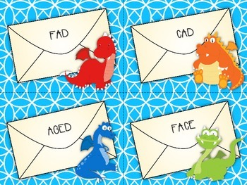 Dragon Letters: Treble Clef Word Game SAMPLER