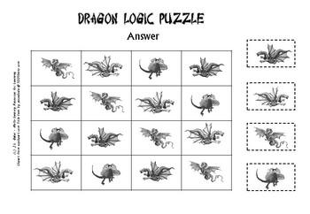 Dragon Logic Puzzle
