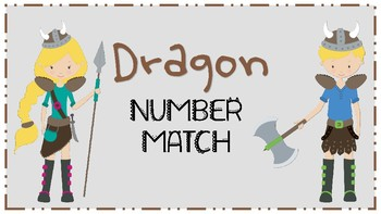 Dragon Math File Folder Game