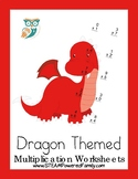 Dragon Math - Multiplication Practice Worksheets