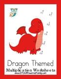 Dragon Math - Multiplication Practice Worksheets