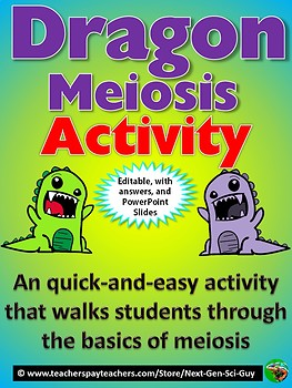 Dragon Meiosis Activity - NGSS