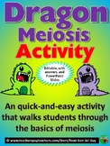 Dragon Meiosis Activity: Students simulate Meiosis Using D