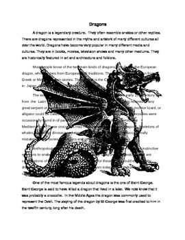 Dragon Reading and Questions