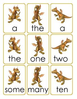 Dragon Sentences -- Sentence Building Activity