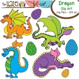 Dragon Set: Clip Art Graphics for Teachers