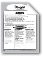 Dragon Shape Book