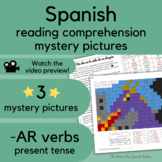 Dragon Spanish Story reading beginner Spanish with PRINTABLE MYSTERY PICTURES