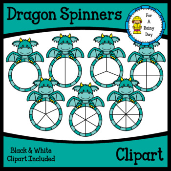 Dragon Spinners Clipart