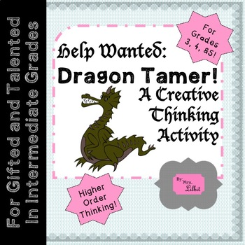 Dragon Tamer Help Wanted Poster
