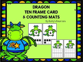 Dragon Ten Frame Mats 1-20