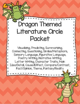 Dragon Themed Literature Circle Packet: Use with Any Book
