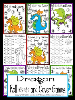 Dragon Themed Roll and Cover Games