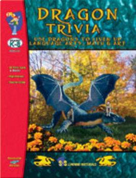 Dragon Trivia Bulletin Board Ideas By On The Mark Press Tpt