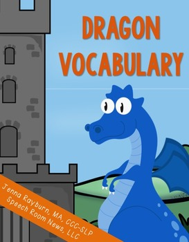 Dragon Vocabulary Words (Freebie)