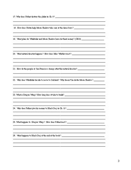 Dragon Wings Reading Questions