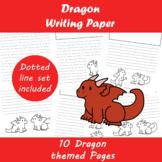 Dragon Writing Paper