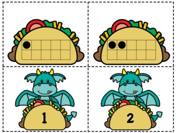 Dragon and Taco Math Centers