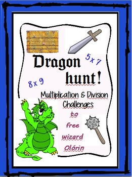 Dragon hunt - Math Quest: Multiplication and division challenges