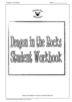 Dragon in the Rocks Student Workbook (Literacy Place 3.2)