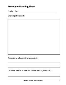 Dragon's Den Rocks & Minerals Product Project + Rubric