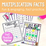 Dragon's Lair Math Center Multiplication Fact Practice for Fact Fluency