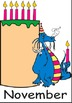 Dragon themed birthday classroom display charts or posters