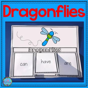 Dragonflies Writing Flap Books!