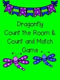Dragonfly Count the Room and Count and Match Game