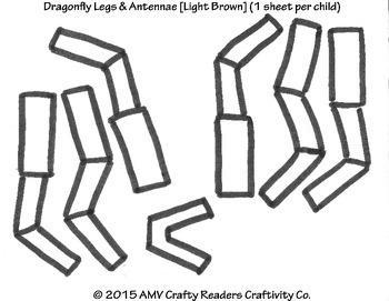 Dragonfly Craftivity