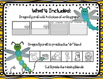 Dragonfly Craft and Writing