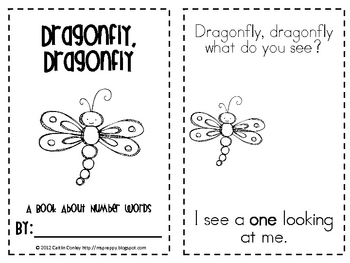 Dragonfly, Dragonfly: Number Words