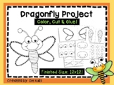 Dragonfly Project - Spring Project - Insect Art Project -